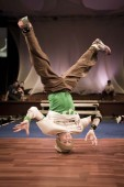 Break dancer, live performance and photography of the arts portfolio