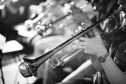 Trumpet player, orchestra photography and photography of the arts portfolio