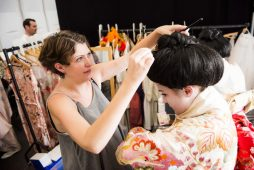 Backstage Opera Photography, Behind the Scenes at Madama Butterfly by Giacomo Puccini at West Green House Opera